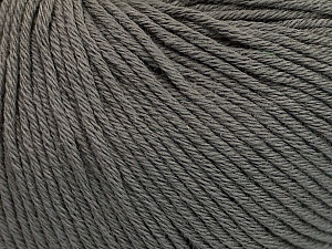 Global Organic Textile Standard (GOTS) Certified Product. CUC-TR-017 PRJ 805332/918191 Fiber Content 100% Organic Cotton, Brand Ice Yarns, Grey, Yarn Thickness 3 Light DK, Light, Worsted, fnt2-54726