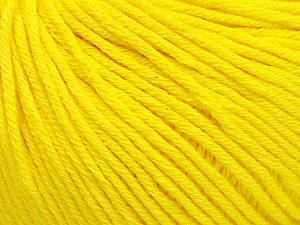 Global Organic Textile Standard (GOTS) Certified Product. CUC-TR-017 PRJ 805332/918191 Fiber Content 100% Organic Cotton, Yellow, Brand Ice Yarns, Yarn Thickness 3 Light DK, Light, Worsted, fnt2-54731