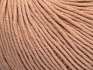 Global Organic Textile Standard (GOTS) Certified Product. CUC-TR-017 PRJ 805332/918191 Fiber Content 100% Organic Cotton, Powder Pink, Brand ICE, Yarn Thickness 3 Light  DK, Light, Worsted, fnt2-54735