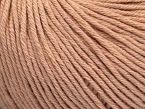 Global Organic Textile Standard (GOTS) Certified Product. CUC-TR-017 PRJ 805332/918191 Fiber Content 100% Organic Cotton, Powder Pink, Brand Ice Yarns, Yarn Thickness 3 Light DK, Light, Worsted, fnt2-54735
