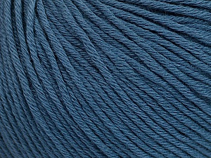 Global Organic Textile Standard (GOTS) Certified Product. CUC-TR-017 PRJ 805332/918191 Fiber Content 100% Organic Cotton, Indigo Blue, Brand Ice Yarns, Yarn Thickness 3 Light DK, Light, Worsted, fnt2-54796