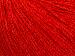 Global Organic Textile Standard (GOTS) Certified Product. CUC-TR-017 PRJ 805332/918191 Fiber Content 100% Organic Cotton, Red, Brand ICE, Yarn Thickness 3 Light  DK, Light, Worsted, fnt2-54797