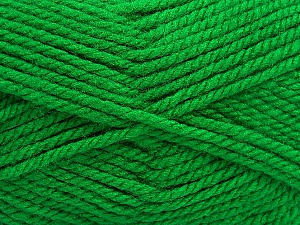 Bulky  Fiber Content 100% Acrylic, Brand ICE, Green, Yarn Thickness 5 Bulky  Chunky, Craft, Rug, fnt2-55104