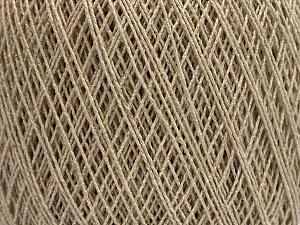 Fiber Content 70% Cotton, 30% Viscose, Brand ICE, Beige, fnt2-55106