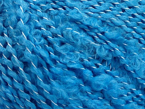 Fiber Content 100% Acrylic, Turquoise, Brand ICE, Yarn Thickness 5 Bulky  Chunky, Craft, Rug, fnt2-55157