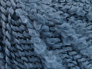 Fiber Content 100% Acrylic, Jeans Blue, Brand ICE, Yarn Thickness 5 Bulky  Chunky, Craft, Rug, fnt2-55158