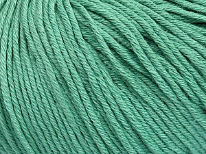 Global Organic Textile Standard (GOTS) Certified Product. CUC-TR-017 PRJ 805332/918191 Fiber Content 100% Organic Cotton, Brand ICE, Emerald Green, Yarn Thickness 3 Light  DK, Light, Worsted, fnt2-55219