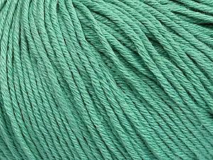 Global Organic Textile Standard (GOTS) Certified Product. CUC-TR-017 PRJ 805332/918191 Fiber Content 100% Organic Cotton, Brand Ice Yarns, Emerald Green, Yarn Thickness 3 Light DK, Light, Worsted, fnt2-55219