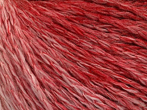Fiber Content 55% Acrylic, 30% Wool, 15% Polyamide, White, Red, Brand ICE, Yarn Thickness 3 Light  DK, Light, Worsted, fnt2-55423