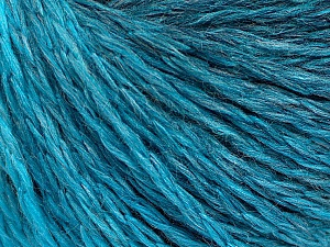 Fiber Content 55% Acrylic, 30% Wool, 15% Polyamide, Turquoise Shades, Brand ICE, Yarn Thickness 3 Light  DK, Light, Worsted, fnt2-55427