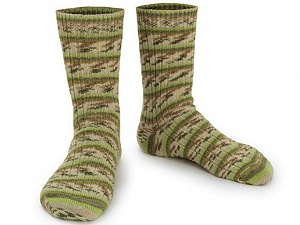 Fiber Content 75% Superwash Wool, 25% Polyamide, Brand ICE, Green Shades, Yarn Thickness 1 SuperFine  Sock, Fingering, Baby, fnt2-55544
