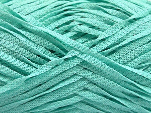 Fiber Content 100% Acrylic, Light Mint Green, Brand ICE, Yarn Thickness 3 Light  DK, Light, Worsted, fnt2-55723