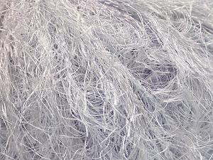 Fiber Content 100% Polyamide, White, Light Lilac, Brand Ice Yarns, Yarn Thickness 5 Bulky Chunky, Craft, Rug, fnt2-55730