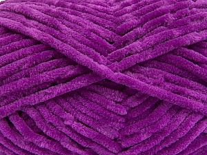 Fiber Content 100% Micro Fiber, Purple, Brand ICE, Yarn Thickness 4 Medium  Worsted, Afghan, Aran, fnt2-55987