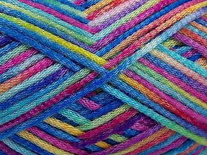 Fiber Content 50% Wool, 40% Polyamide, 10% Acrylic, Turquoise, Pink, Brand ICE, Green, Blue, Yarn Thickness 3 Light  DK, Light, Worsted, fnt2-56125