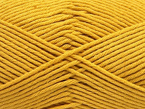 Fiber Content 50% SuperFine Acrylic, 50% SuperFine Nylon, Brand Ice Yarns, Gold, Yarn Thickness 4 Medium Worsted, Afghan, Aran, fnt2-56285