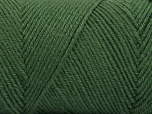 Fiber Content 50% Acrylic, 50% Wool, Khaki, Brand ICE, Yarn Thickness 3 Light  DK, Light, Worsted, fnt2-56431