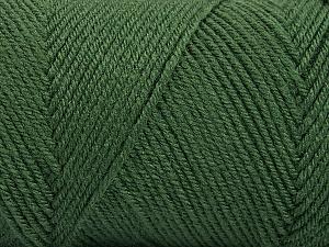 Fiber Content 50% Acrylic, 50% Wool, Khaki, Brand ICE, Yarn Thickness 3 Light  DK, Light, Worsted, fnt2-56431