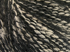 Fiber Content 60% Acrylic, 20% Polyamide, 20% Wool, Brand ICE, Black, Beige, Yarn Thickness 3 Light  DK, Light, Worsted, fnt2-56771