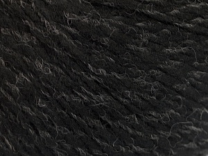 Fiber Content 50% Wool, 50% Acrylic, Brand ICE, Grey, Black, fnt2-56831
