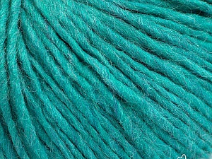Fiber Content 50% Acrylic, 50% Wool, Turquoise, Brand ICE, Yarn Thickness 4 Medium  Worsted, Afghan, Aran, fnt2-57017