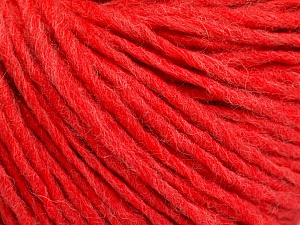 Fiber Content 50% Acrylic, 50% Wool, Salmon, Brand ICE, Yarn Thickness 4 Medium  Worsted, Afghan, Aran, fnt2-57018