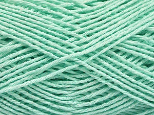 Fiber Content 100% Cotton, Light Mint Green, Brand ICE, Yarn Thickness 2 Fine  Sport, Baby, fnt2-57311