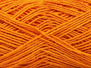 Fiber Content 100% Cotton, Light Orange, Brand ICE, Yarn Thickness 2 Fine  Sport, Baby, fnt2-57320