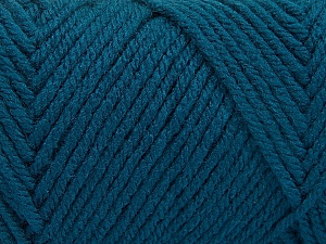 Items made with this yarn are machine washable & dryable. Fiber Content 100% Acrylic, Teal, Brand ICE, Yarn Thickness 4 Medium  Worsted, Afghan, Aran, fnt2-57419