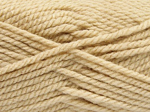 Bulky  Fiber Content 100% Acrylic, Brand ICE, Cafe Latte, Yarn Thickness 5 Bulky  Chunky, Craft, Rug, fnt2-57443