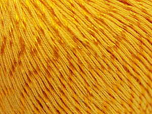 Fiber Content 70% Mercerised Cotton, 30% Viscose, Brand KUKA, Gold, Yarn Thickness 2 Fine  Sport, Baby, fnt2-57570