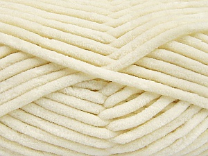 Fiber Content 100% Micro Fiber, Brand ICE, Cream, Yarn Thickness 4 Medium  Worsted, Afghan, Aran, fnt2-57624