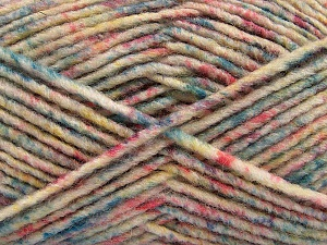 Fiber Content 70% Acrylic, 30% Wool, Pastel Colors, Brand ICE, Yarn Thickness 4 Medium  Worsted, Afghan, Aran, fnt2-57650