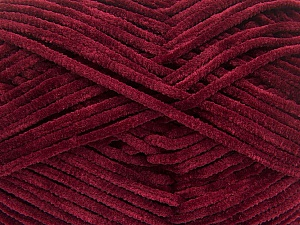 Fiber Content 100% Micro Fiber, Brand ICE, Burgundy, Yarn Thickness 3 Light  DK, Light, Worsted, fnt2-57657