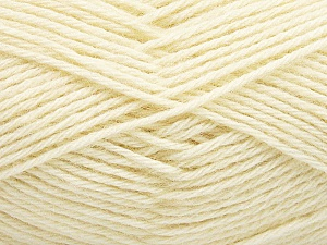 Fiber Content 65% Merino Wool, 35% Silk, Brand ICE, Cream, Yarn Thickness 3 Light  DK, Light, Worsted, fnt2-57668