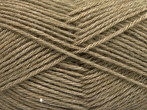 Fiber Content 65% Merino Wool, 35% Silk, Khaki, Brand ICE, Yarn Thickness 3 Light  DK, Light, Worsted, fnt2-57671