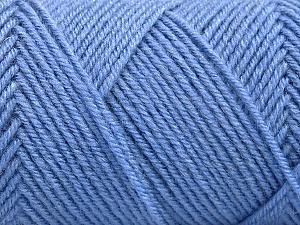 Fiber Content 50% Wool, 50% Acrylic, Indigo Blue, Brand ICE, Yarn Thickness 3 Light  DK, Light, Worsted, fnt2-57730