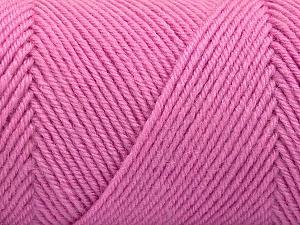 Fiber Content 50% Wool, 50% Acrylic, Light Pink, Brand ICE, Yarn Thickness 3 Light  DK, Light, Worsted, fnt2-57732