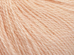 Fiber Content 65% Merino Wool, 35% Silk, Light Salmon, Brand ICE, Yarn Thickness 1 SuperFine  Sock, Fingering, Baby, fnt2-57860