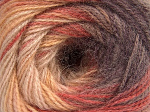 Fiber Content 75% Acrylic, 25% Angora, Maroon, Brand ICE, Cream Shades, Copper, Yarn Thickness 2 Fine  Sport, Baby, fnt2-58020
