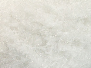 Fiber Content 100% Polyamide, White, Optical White, Brand ICE, Yarn Thickness 6 SuperBulky  Bulky, Roving, fnt2-58112