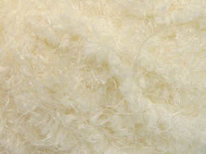 Fiber Content 100% Polyamide, Brand ICE, Cream, Yarn Thickness 6 SuperBulky  Bulky, Roving, fnt2-58113