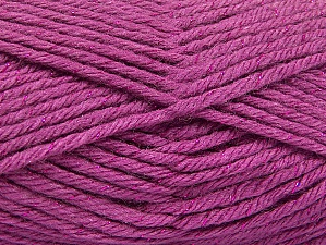 Fiber Content 72% Premium Acrylic, 3% Metallic Lurex, 25% Wool, Orchid, Brand ICE, Yarn Thickness 5 Bulky  Chunky, Craft, Rug, fnt2-58204