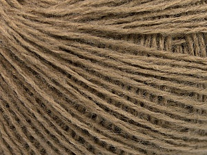 Fiber Content 50% Wool, 50% Acrylic, Brand ICE, Camel, Yarn Thickness 2 Fine  Sport, Baby, fnt2-58293