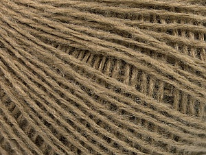 Fiber Content 50% Wool, 50% Acrylic, Brand ICE, Dark Camel, Yarn Thickness 2 Fine  Sport, Baby, fnt2-58295