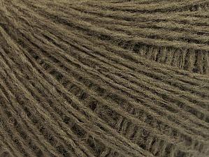 Fiber Content 50% Wool, 50% Acrylic, Brand Ice Yarns, Dark Khaki, Yarn Thickness 2 Fine Sport, Baby, fnt2-58296