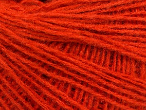Fiber Content 50% Wool, 50% Acrylic, Orange, Brand ICE, Yarn Thickness 2 Fine  Sport, Baby, fnt2-58303