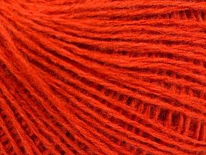 Fiber Content 50% Wool, 50% Acrylic, Brand Ice Yarns, Dark Orange, Yarn Thickness 2 Fine Sport, Baby, fnt2-58304