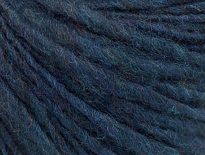 Fiber Content 55% Acrylic, 45% Wool, Navy, Brand ICE, Yarn Thickness 4 Medium  Worsted, Afghan, Aran, fnt2-58314