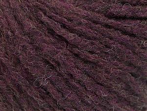 Fiber Content 50% Wool, 50% Acrylic, Maroon, Brand ICE, Yarn Thickness 4 Medium  Worsted, Afghan, Aran, fnt2-58322
